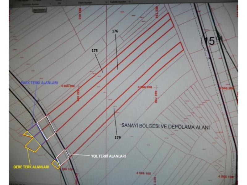 Zonguldak Ereğli Şirketten Satılık 6959 m2 Tarla