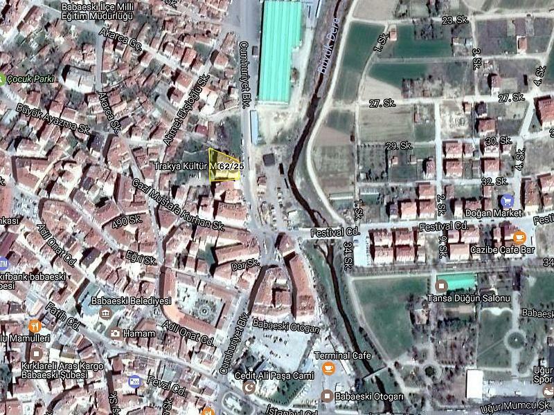 Kırklareli Babaeski Hacı Hasan Mahallesi'nde 3+1 Daire (1/2 Hissesi)