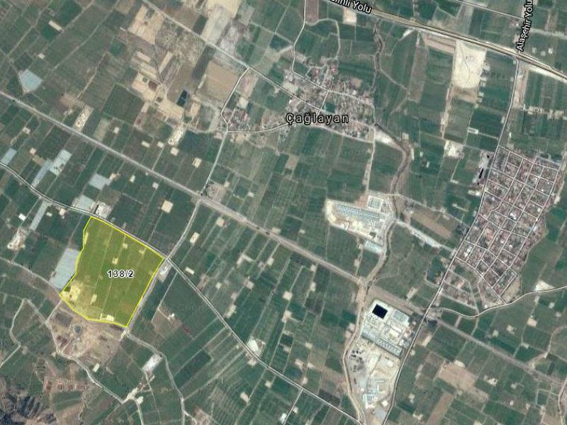 Manisa Alaşehir Şirketten Satılık 8688 m2 Tarla