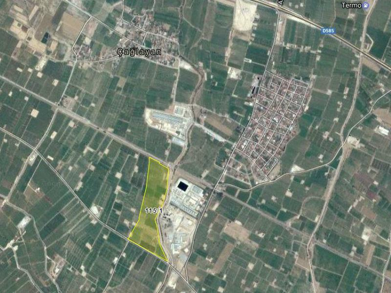Manisa Alaşehir Şirketten Satılık 2401 m2 Tarla