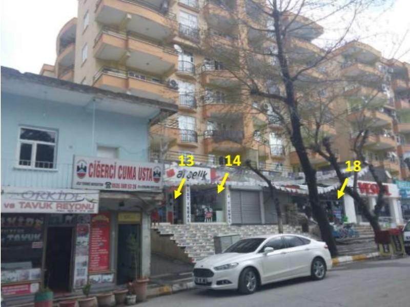Diyarbakır Silvan Şirketten Satılık 67 m2 Dükkan