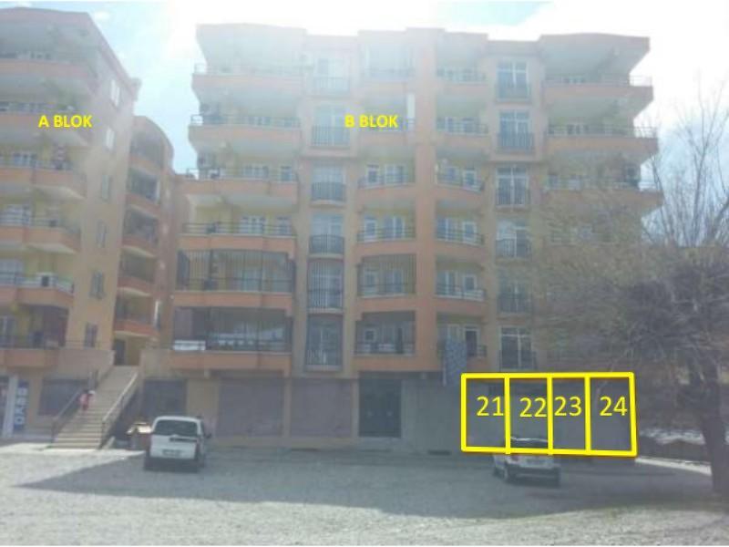 Diyarbakır Silvan Şirketten Satılık 40 m2 Dükkan