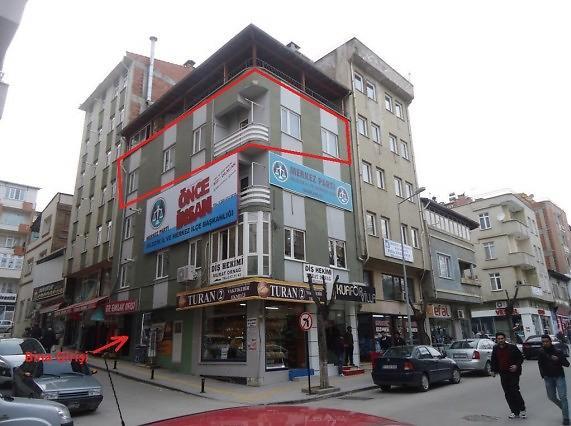 Bilecik Gazipaşa'da 3+1 Daire