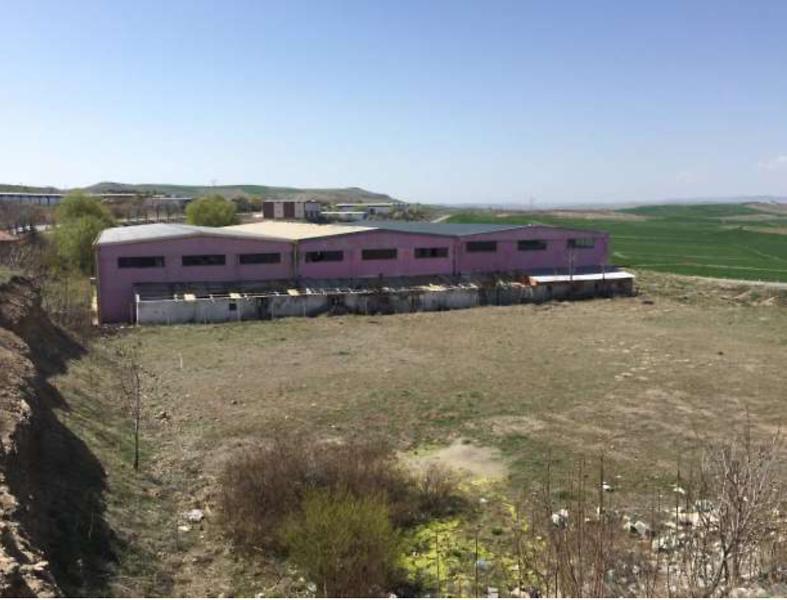 Yozgat Yerköy'de Fabrika Binası ve Arsası