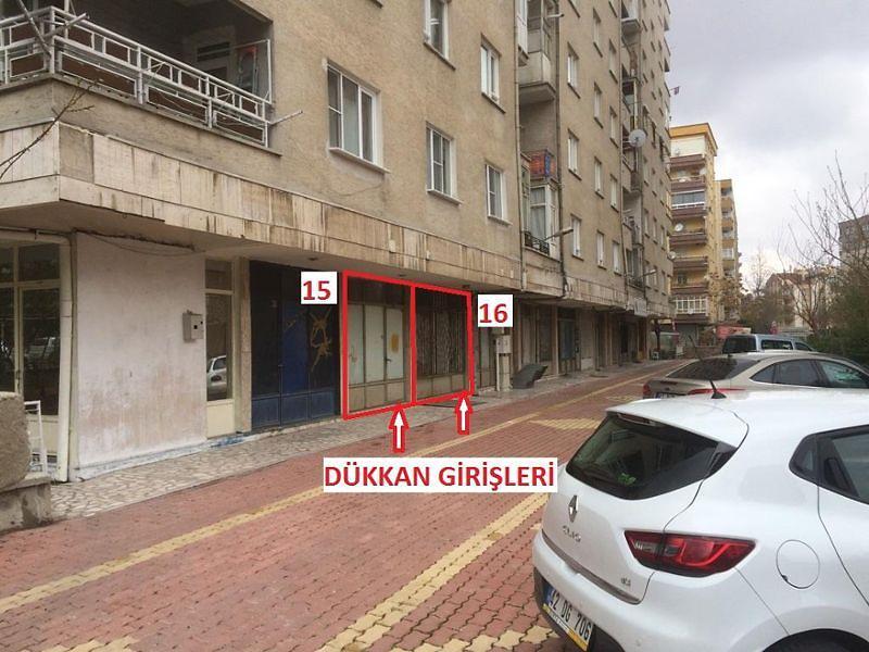 Konya Selçuklu'da Dükkan