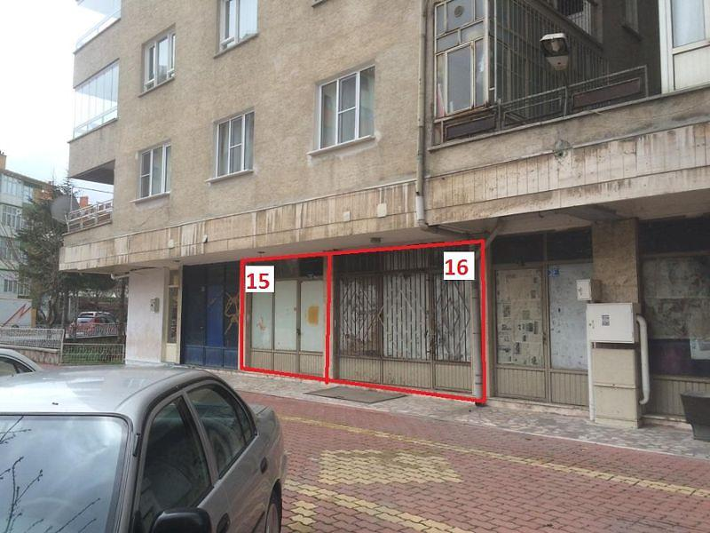 Konya Selçuklu'da 27m2 Dükkan