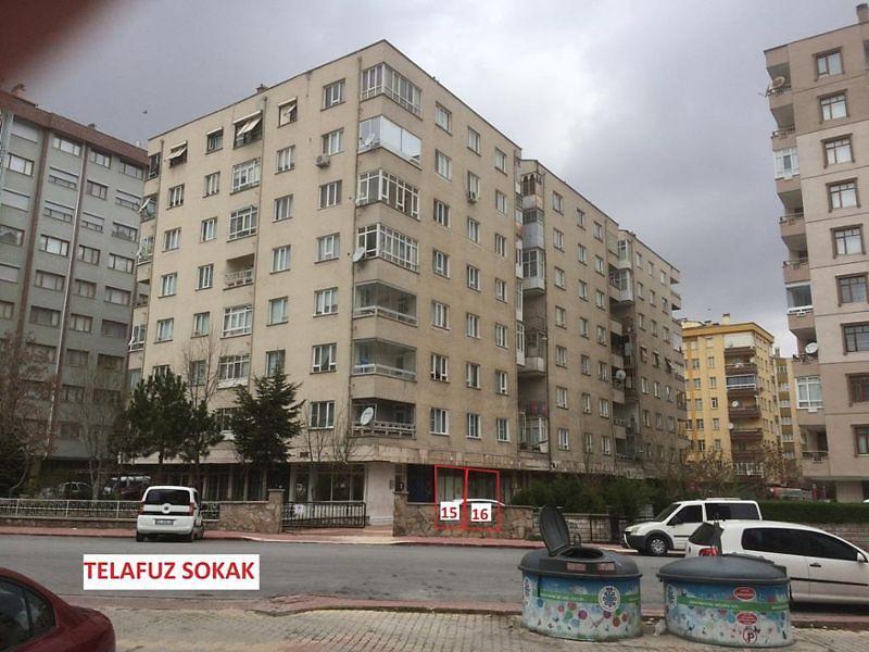 Konya Selçuklu Şirketten Satılık 27 m2 Dükkan