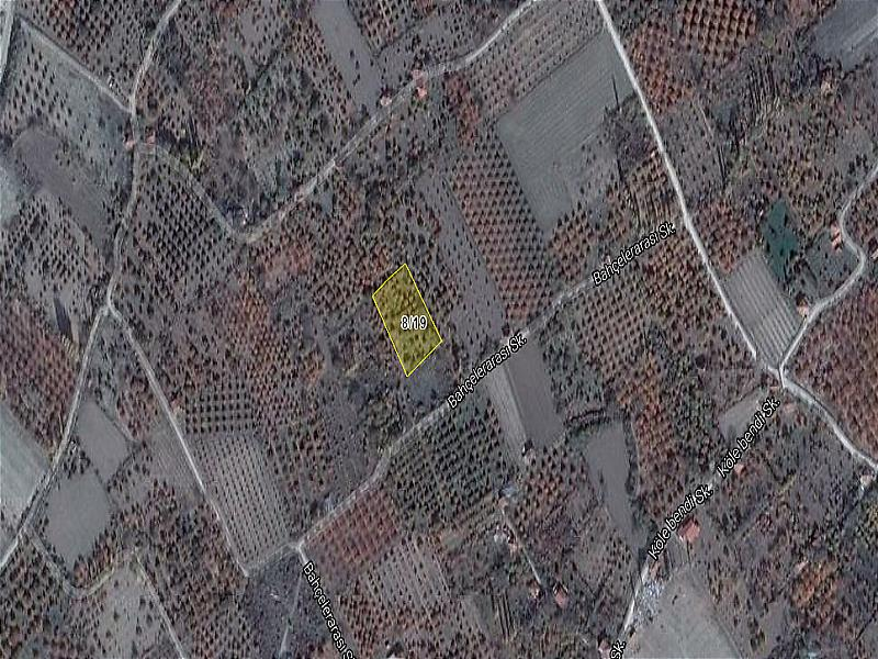 Isparta Uluborlu Şirketten Satılık 2944 m2 Bağ & Bahçe