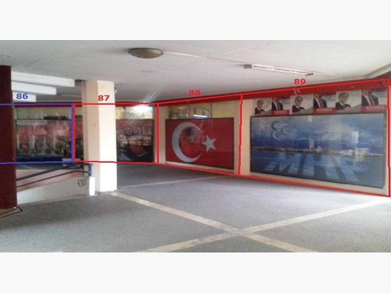 Mersin Akdeniz Bankadan Satılık 25 m2 Dükkan