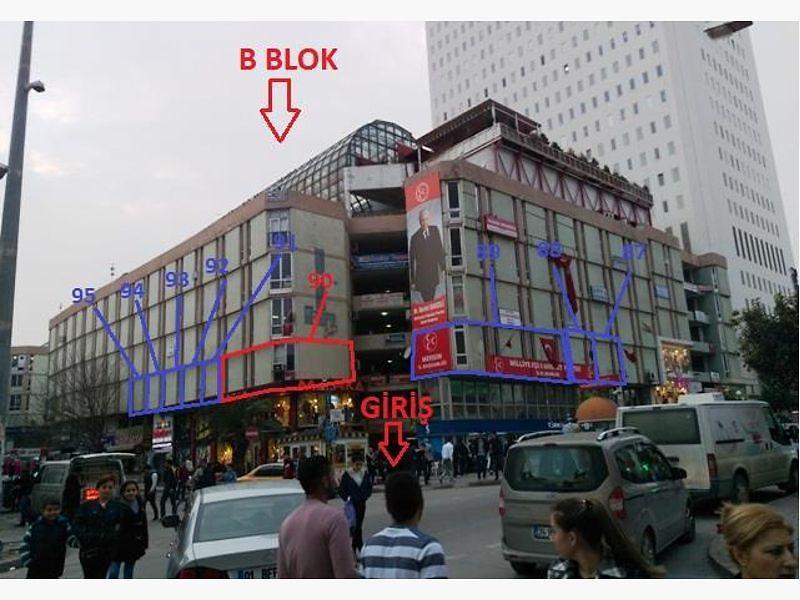 Mersin Akdeniz Mahmudiye'de 34 m2 Dükkan (No:88)