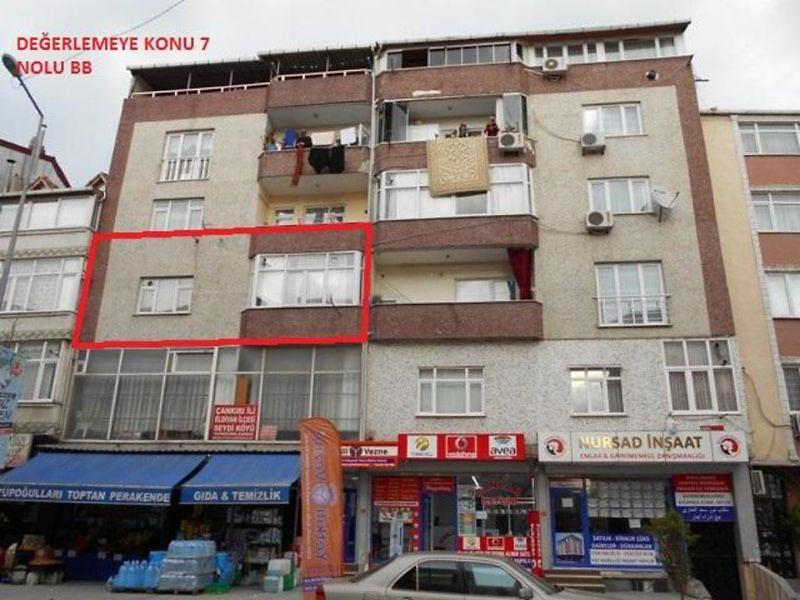 İstanbul Sultançiftliği Mahallesi'nde 114 m2 Daire 3+1