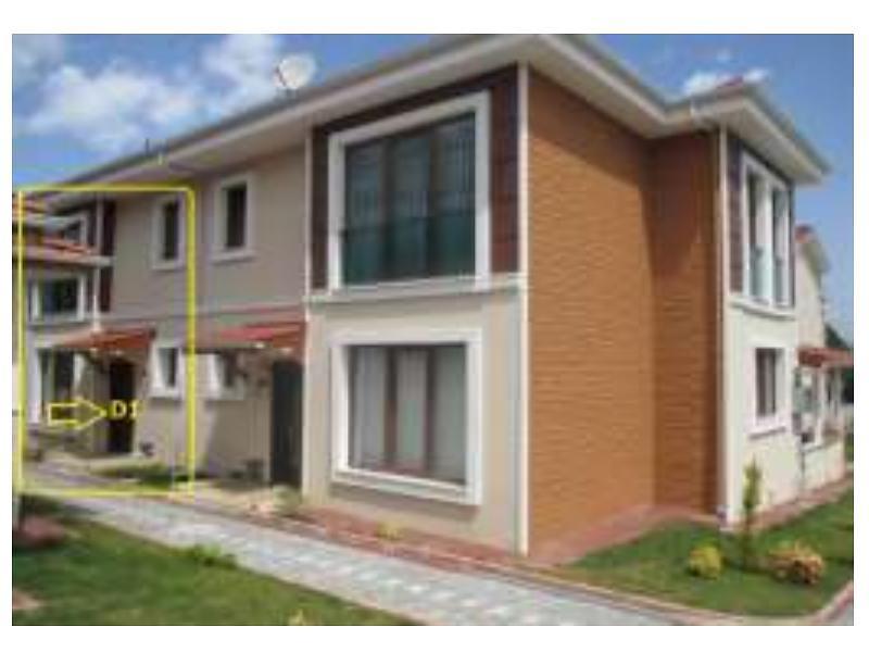 Kocaeli Başiskele Yeniköy Merkez'de 155 m2 Dubleks Daire