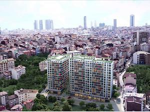 İstanbul Kağıthane Şirketten Satılık 45 m2 Daire