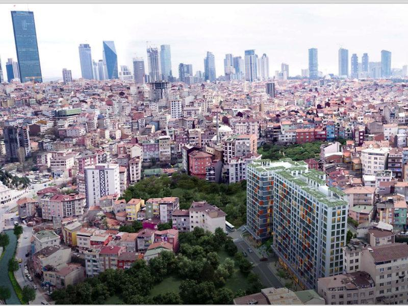 İstanbul Kağıthane İnşaat Firmasından Satılık 45 m2 Daire