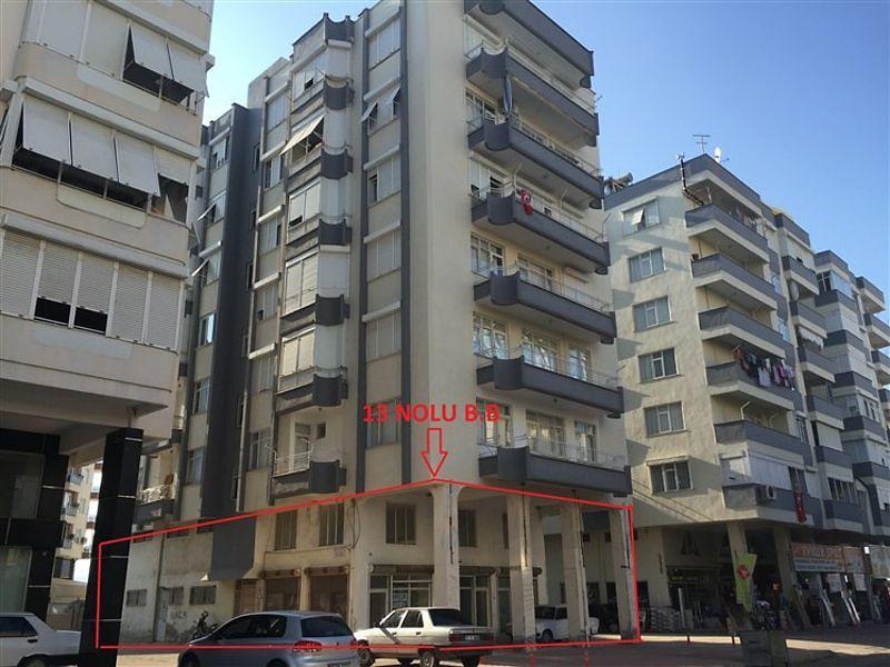 Antalya Kumluca Bankadan Satılık 272 m2 Dükkan