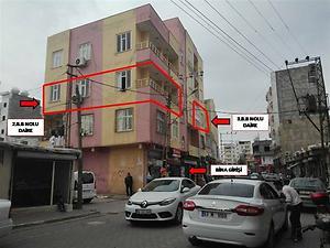 Şanlıurfa Viranşehir Bankadan Satılık 80 m2 Daire