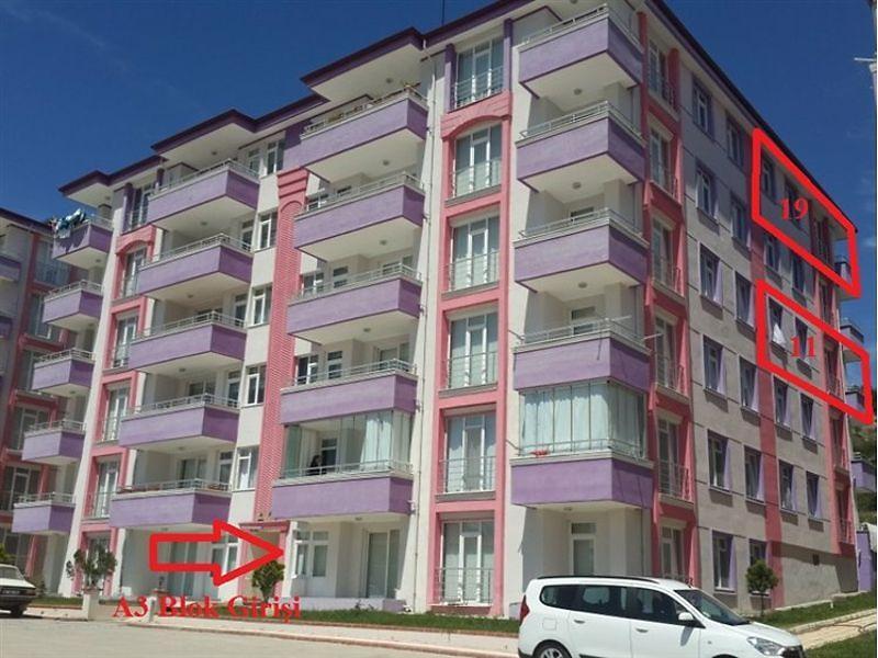 Amasya Taşova Altın Sitesi'nde 3+1 Daire (A3 Blok no: 19)