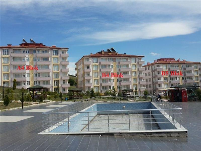 Amasya Taşova Altın Sitesi'nde 3+1 Daire (A4 Blok no: 19)