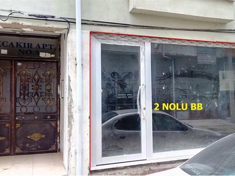 Tekirdağ Çorlu Bankadan Satılık 53 m2 Dükkan