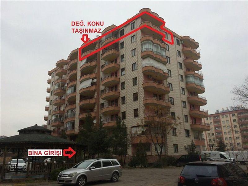 Diyarbakır Kayapınar Huzurevleri Mahallesi'nde 202 m2 Daire