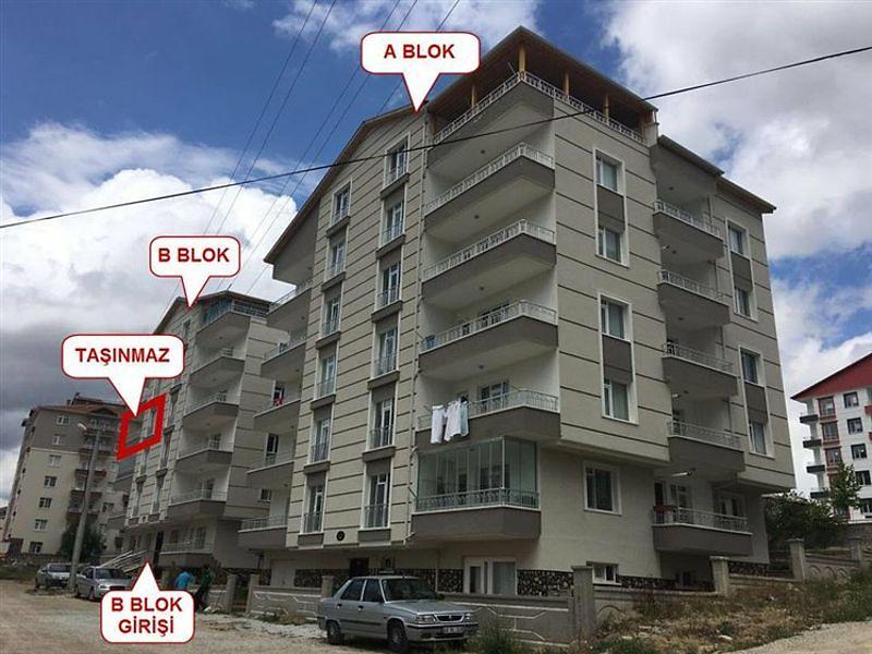 Kırşehir Merkez Güldiken Mahallesi'nde 3+1 Daire 138 m2