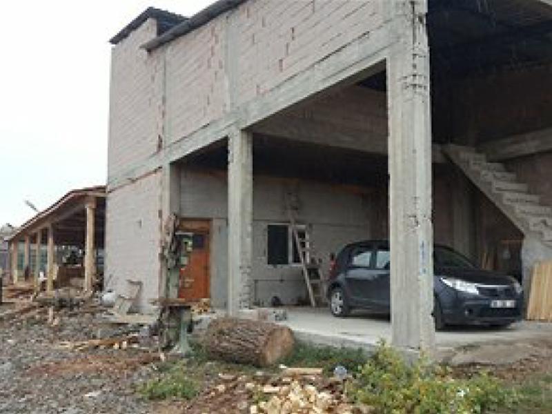 Yozgat Sorgun'da Natamam İşyeri