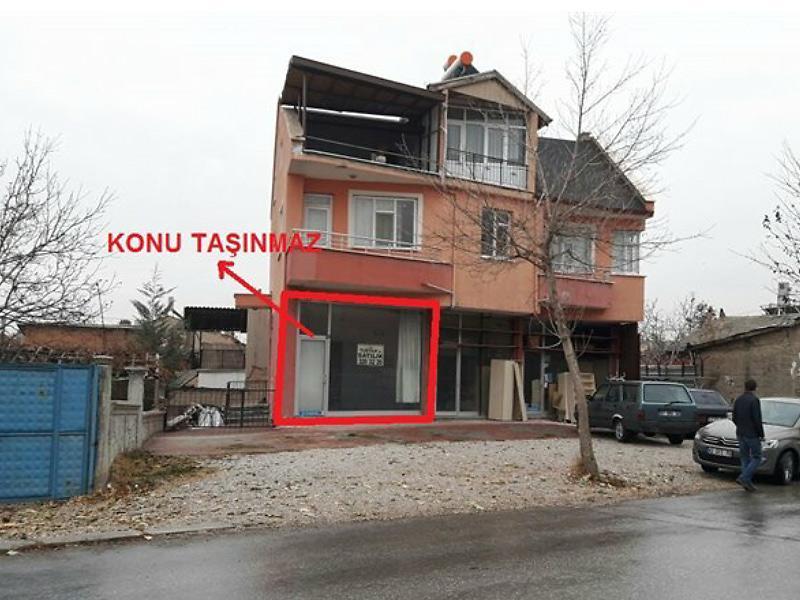 Konya Meram'da 28 m2 Dükkan