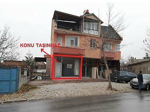 Konya Meram Bankadan Satılık 28 m2 Dükkan