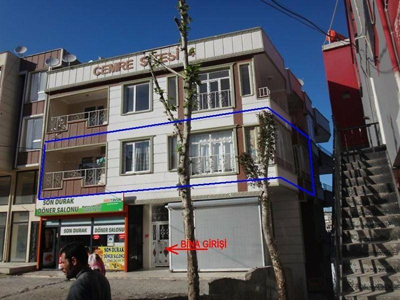 Şanlıurfa Eyyübiye Direkli Mahallesi'nde 2+1 Daire 98 m2