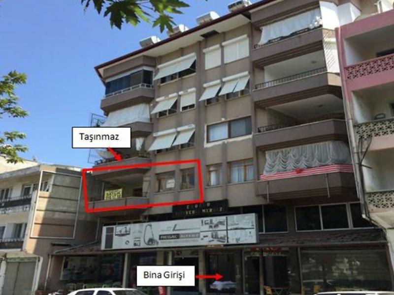 Mersin Anamur Sağlık Mahallesi'nde 3+1 Daire 133 m2