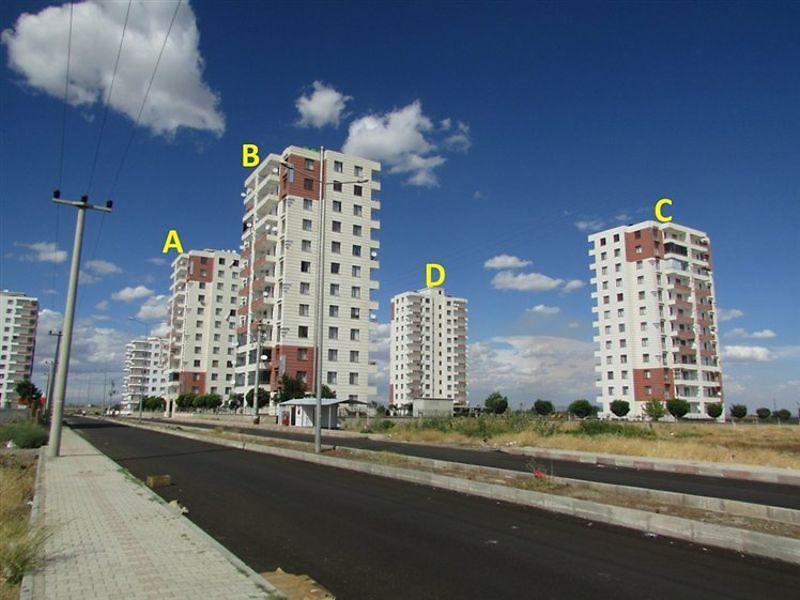 Diyarbakır Yenişehir'de 140 m2 Daire