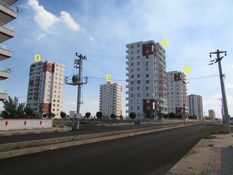 Diyarbakır Yenişehir'de 3+1 Daire