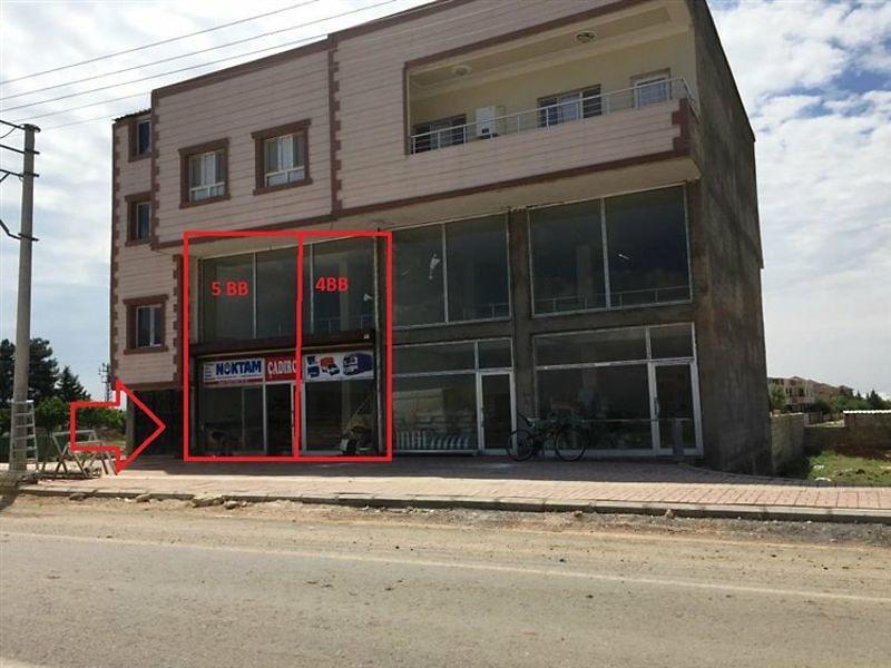 Şanlıurfa Viranşehir'de 62m2 Asmakatlı Dükkan