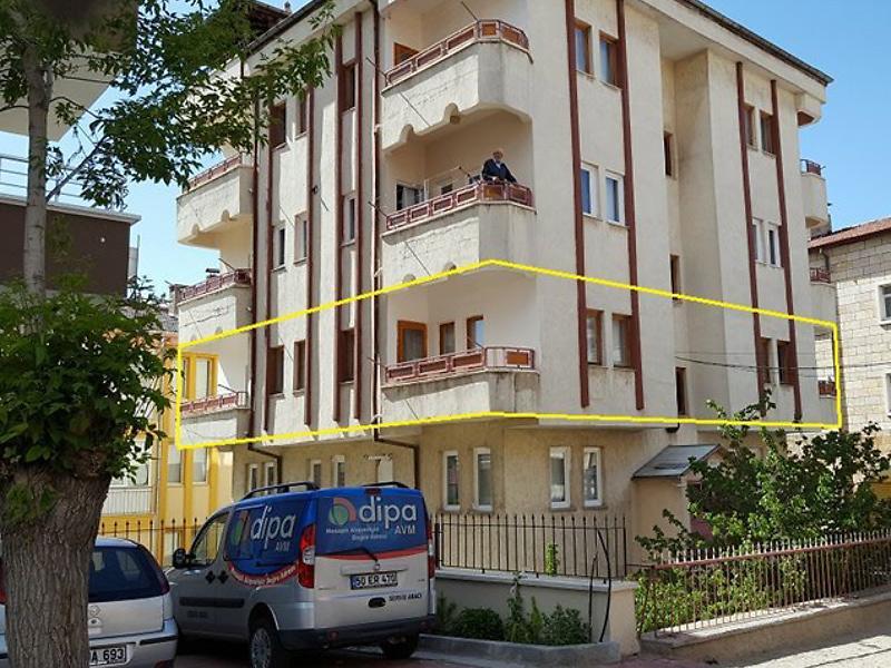 Nevşehir Merkez 350 Evler Mahallesi'nde 3+1 Daire 155 m2
