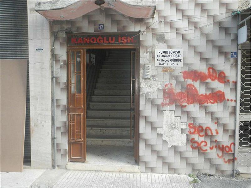 Mersin Akdeniz Cami Şerif Mahallesi'nde Ofis 34 m2