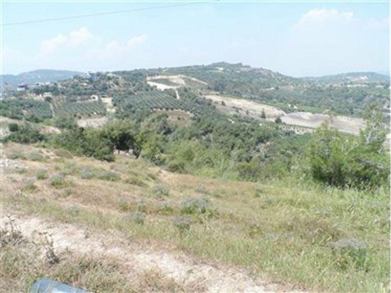 Mersin Akdeniz Bankadan Satılık 4545 m2 Tarla