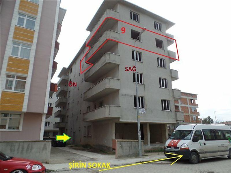 Tekirdağ Çerkezköy Fatih Mahallesi'nde Natamam Daire 3+1