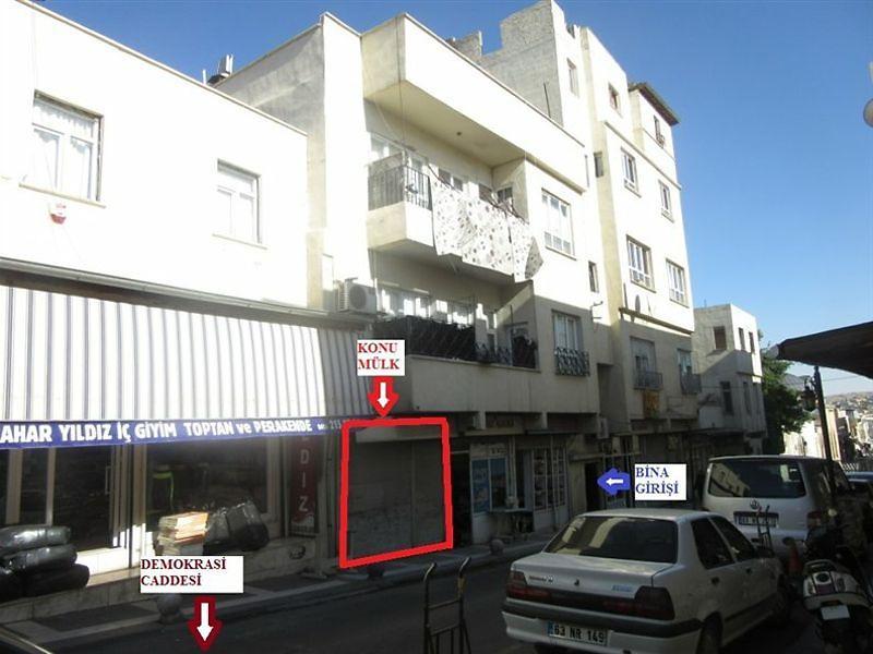 Şanlıurfa Merkez Bankadan Satılık 25 m2 Dükkan