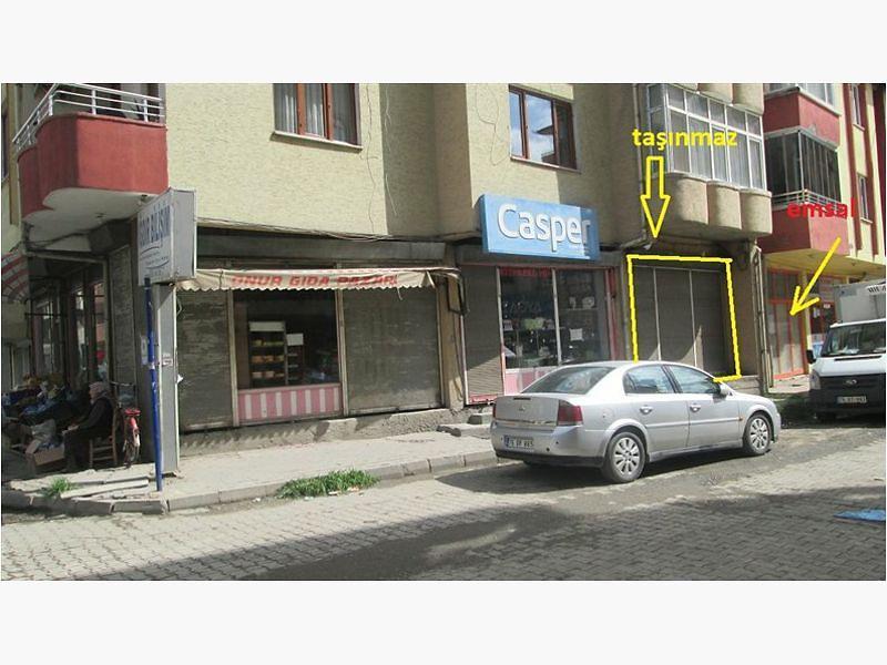 Iğdır Merkez Bankadan Satılık 47 m2 Dükkan