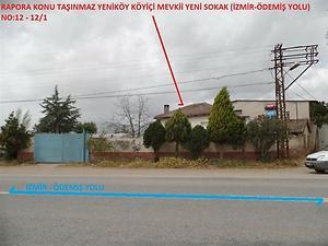İzmir Ödemiş Bankadan Satılık 140 m2 Bina