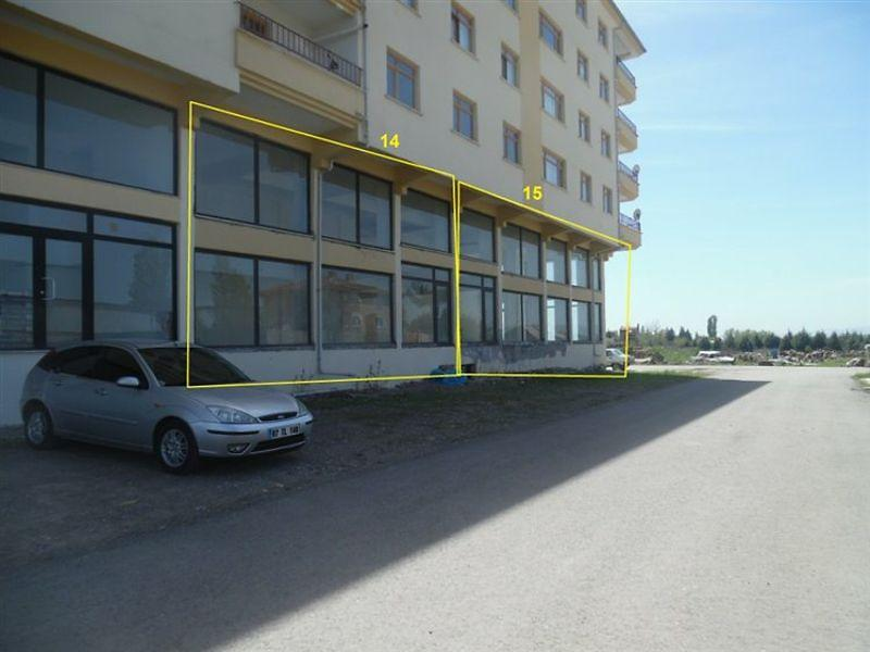 Ankara Kazan'da Asma Katlı 87 m2 Dükkan