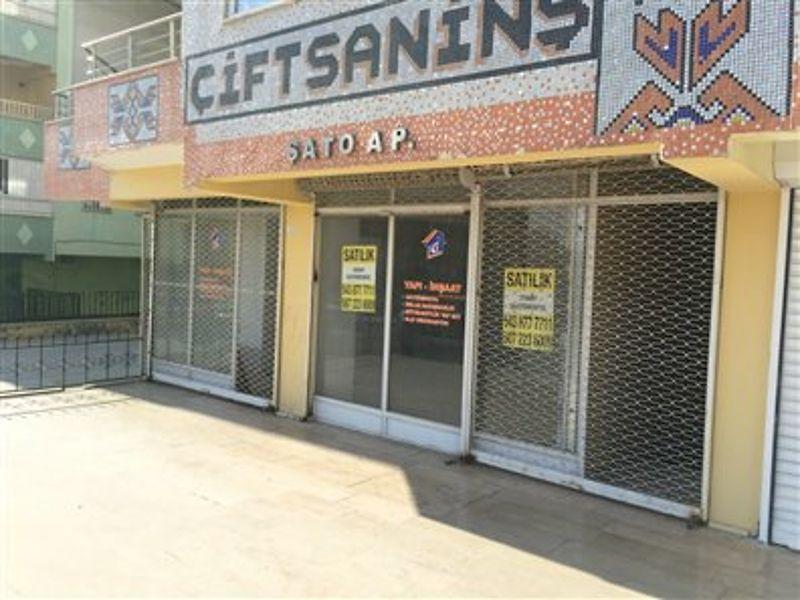 Şanlıurfa Merkez Bankadan Satılık 216 m2 Dükkan
