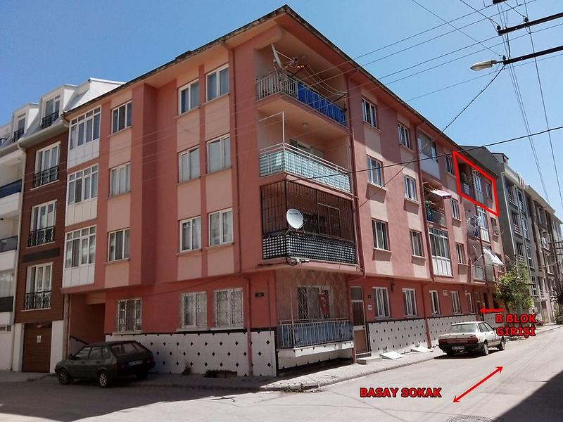 Eskişehir Tepebaşı'nda 88m2 Daire