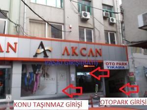 Adana Seyhan Bankadan Satılık 15 m2 Dükkan