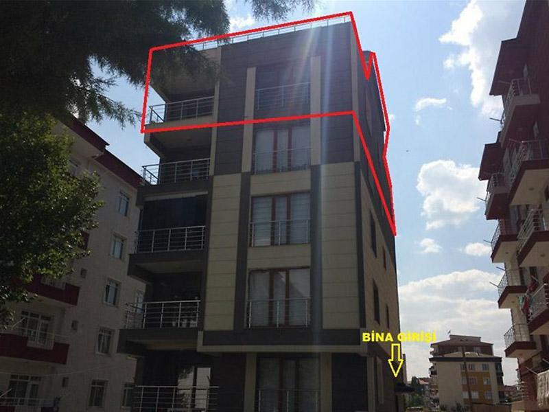 Amasya Merzifon Bankadan Satılık 182 m2 Daire