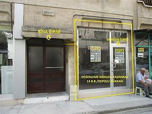 Amasya Merkez Bankadan Satılık 95 m2 Dükkan
