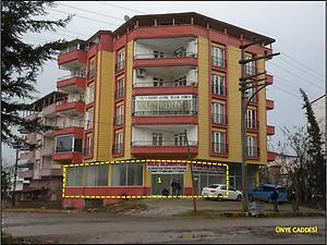 Samsun Terme Bankadan Satılık 147 m2 Dükkan