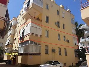 Antalya Alanya Bankadan Satılık 107 m2 Daire