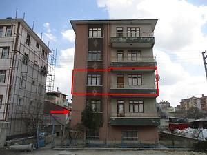 Ankara Çubuk Bankadan Satılık 134 m2 Daire