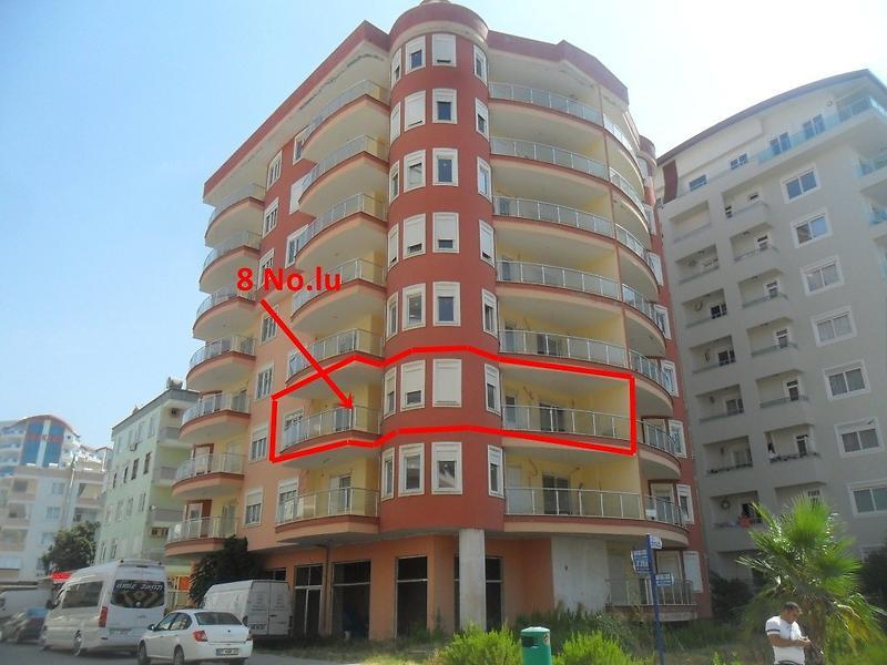Antalya Alanya Şirketten Satılık 99 m2 Daire